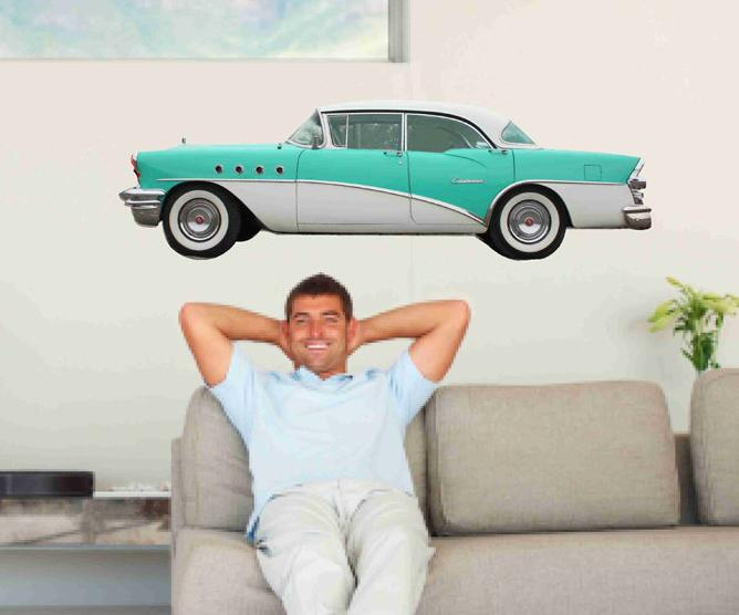 1955 Buick Century Riviera Vinyl Wall Decal